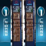 Aluminiumbadezimmer-Tür für Technik-Projekt