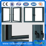 Double Glazed Glass를 가진 두 배 Pane Outside Opening Aluminum Casement Window