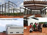 Edificios de almacenaje prefabricados del almacén de la estructura de acero