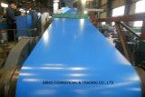 0.15mm-2.0mm caldi/laminato a freddo la bobina d'acciaio galvanizzata preverniciata Gi/PPGI del ferro di Aluzinc ricoperta colore