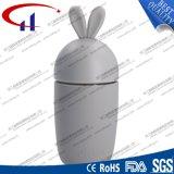 Bouteille d'eau en verre de forme de lapin 260 ml (CHB8002)