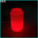 Lámpara de mesa LED redonda mesa LED lámpara recargable de la batería
