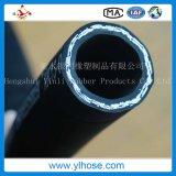 Mangueira de borracha hidráulica trançada flexível de alta pressão de R2 31mm
