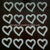 Ricordo di ceramica personalizzato di cerimonia nuziale a forma di cuore (AM-102)