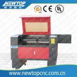 Gravura do laser do CO2 e máquina de estaca para a madeira, acrílico (LC6090)