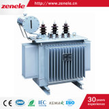 12kv aan 440V 60Hz 3 Transformator van de Distributie van de Macht van de Fase de Olie Ondergedompelde