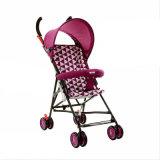 Carrinho de criança cor-de-rosa do carro de bebê da cor da fábrica