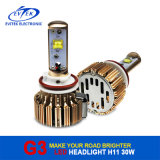 30W 3000lm H11のクリー族LED自動車LEDのヘッドライトキット6000k