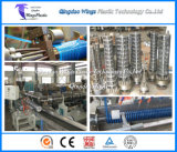 Ligne d'extrusion de boyau d'aspiration de PVC/boyau renforcé par enroulement spiralé en plastique faisant la machine