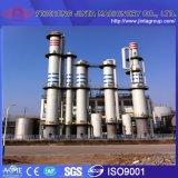 蒸留器Column AlcoholかEthanol 99.9% Alcohol/Ethanol Turnkey Plant