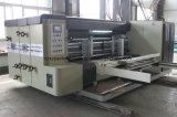 베스트셀러 4개의 컬러 인쇄기 Slotter는 절단 쌓아올리는 기계 기계장치를 정지한다