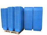 600*400 Nestableプラスチック分布によってスタックされる容器ボックス