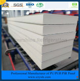 ISO, SGS одобрил 100mm выбитую алюминиевую панель сандвича PIR (Быстр-Приспособьте) для замораживателя холодной комнаты холодной комнаты