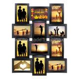 Рамка пластичного Multi коллажа фотоего изображения украшения Openning домашнего пластичная Multi