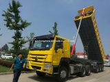 Semi-Trailers do caminhão de descarga da boa qualidade de China 3 eixos