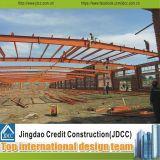 Almacén/taller/edificio de la estructura de acero de la buena calidad y del panel de emparedado del bajo costo