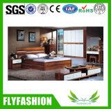 居間のための木の子供の寝室の家具の二段ベッド