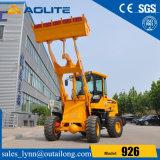 Prezzi bassi usati caricatore anteriore idraulico cinese del trattore della fabbrica piccolo