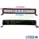 """un lavoro ibrido LED di 20 """" righe del CREE 112W curvo guidando barra"""