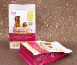 De douane drukte de Zij Plastic Zakken van de Bodem van het Voedsel voor huisdieren van de Hoekplaat Vlakke af