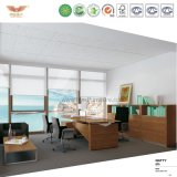 Meubles de bureau modernes L bureau exécutif de forme (MENUISIER ED26)