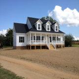 Casa ligera prefabricada de la estructura de acero para las vacaciones