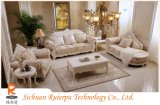 European-Style Wohnzimmer mit stilvollen Möbeln