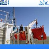 5.5m Reddingsboot van het Type FRP van 15 Personen de Mariene Open