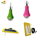 Kit solar 3W LED lámpara solar recargable global de las luces del amanecer Sre-99G-1