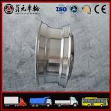 Roda de alumínio forjada do caminhão da liga do magnésio para o barramento (11.75*22.5)