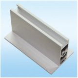 Capa cuadrada del polvo de los perfiles del aluminio, plata que pule, polaco de oro