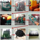 Línea usada máquina de Recycline del neumático para el polvo de goma