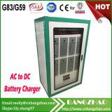 태양 에너지 시스템을%s DC 480V 80A 젤 배터리 충전기 내각에 3 단계 AC