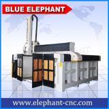 Ele3050 maquinaria do router do CNC do ATC da linha central do Styrofoam 4 para a mobília de madeira da porta