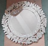 ベニス風の設計円形の壁ミラー(HJA12077)