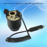 China Cheap Car Cigarette Lighter Socket Splitter für Laptop PC
