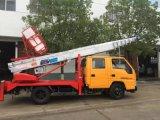 [دونغفنغ] 6*4 ثقيلة - علا واجب رسم 16 أطنان شاحنة مع يطوي سلاح مرفاع شاحنة