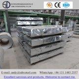 Tôles laminées à froid en acier galvanisé Feuille de la bobine de matériaux de construction
