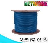 Cable de LAN de Ethernet del carrete CAT6A RJ45 SSTP de la velocidad los 305m