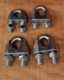 Clip malleabili della fune metallica di alta qualità (DIN1142)