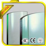 Técnica de vidro transparente e vidro temperado de forma plana
