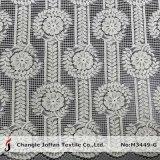 Cable textiles tejidos de punto tejido de encaje vestidos (M3449-G)