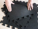 Desgaste da ginástica - esteira de borracha do assoalho da telha de borracha resistente da ginástica de EPDM