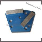 Il doppio diamante barra/del tondo suddivide la lavorazione con utensili concreta del diamante del trapezio