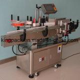 De volledig Automatische Vlakke Machine van de Etikettering van de Fles