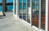 Portelli scorrevoli del balcone del patio con il vetro Tempered di 6mm