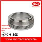 Peça fazendo à máquina do CNC do tampão de aço