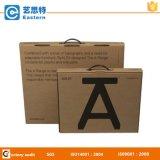 Aangepast papier Gift Box met plastic handvat