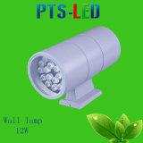 Cabezal doble luz de pared 12W la certificación CE