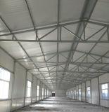 Armazém de fabricação de construção de aço galvanizado / estrutura de aço leve
